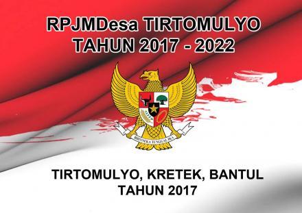 RPJMDesa Tirtomulyo Tahun 2017-2022