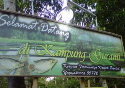 Kampung Gurami Dusun Kergan