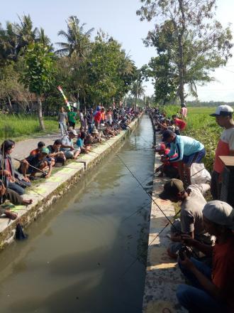 Lomba Mancing di Dusun Genting