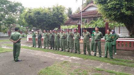 Camat Kretek Pimpin Apel Pamong Desa Tirtomulyo