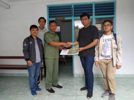 Penyerahan Hasil Laporan Perancangan Pemukiman dan Perumahan Mahasiswa UAJY