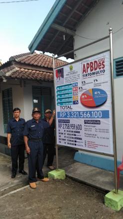 Transparansi Pengelolaan APBDes Desa Tirtomulyo