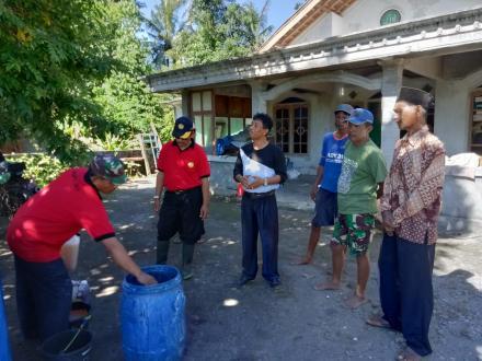 Gerda Wereng Batang di Lahan Persawahan Dusun Bracan