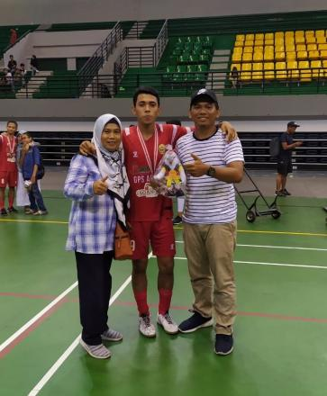 Arfan Amru Turut Antarkan Tim Futsal Putra Bantul Juarai Porda DIY