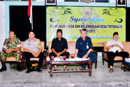 Syawalan Pemerintah Desa Tritomulyo